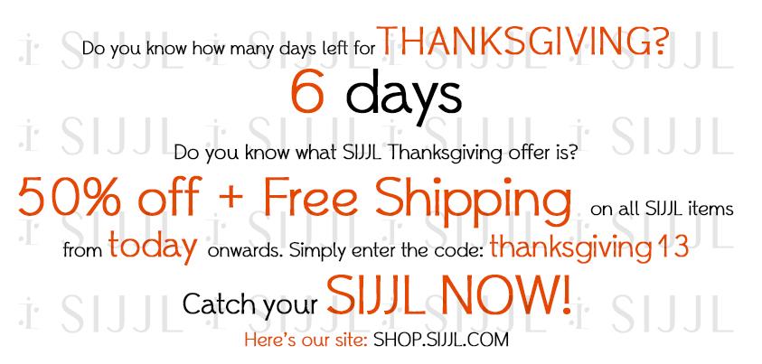 thanksgiving offer
