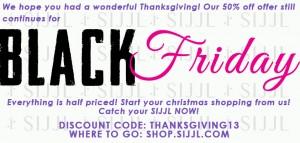 Black Friday offer!