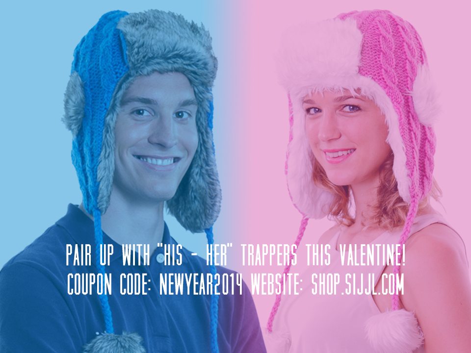His-Hers Trapper Hats