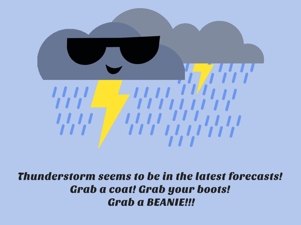 Forecast of Thunderstorm!