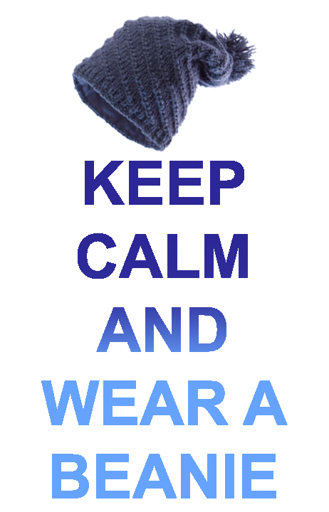 Keep Calm and Wear a Beanie