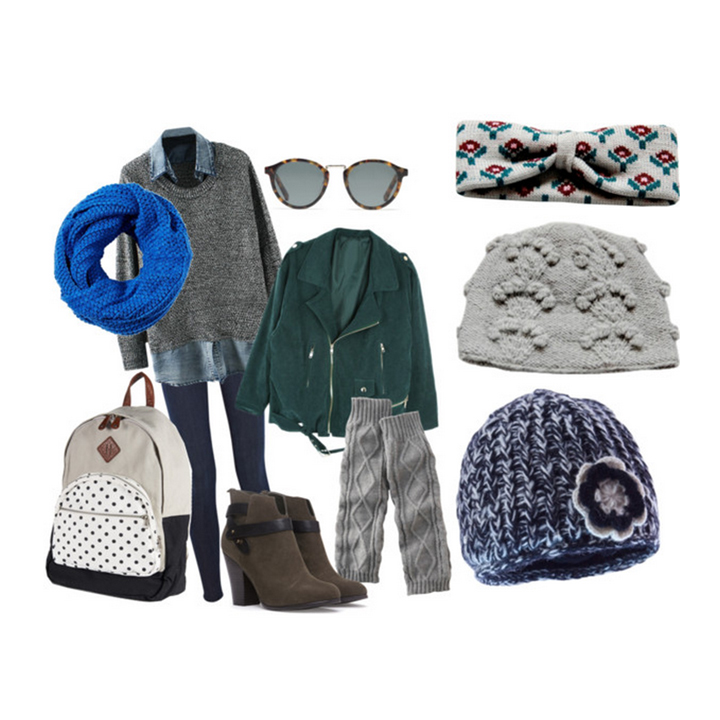 Layers, headbands, and Beanies