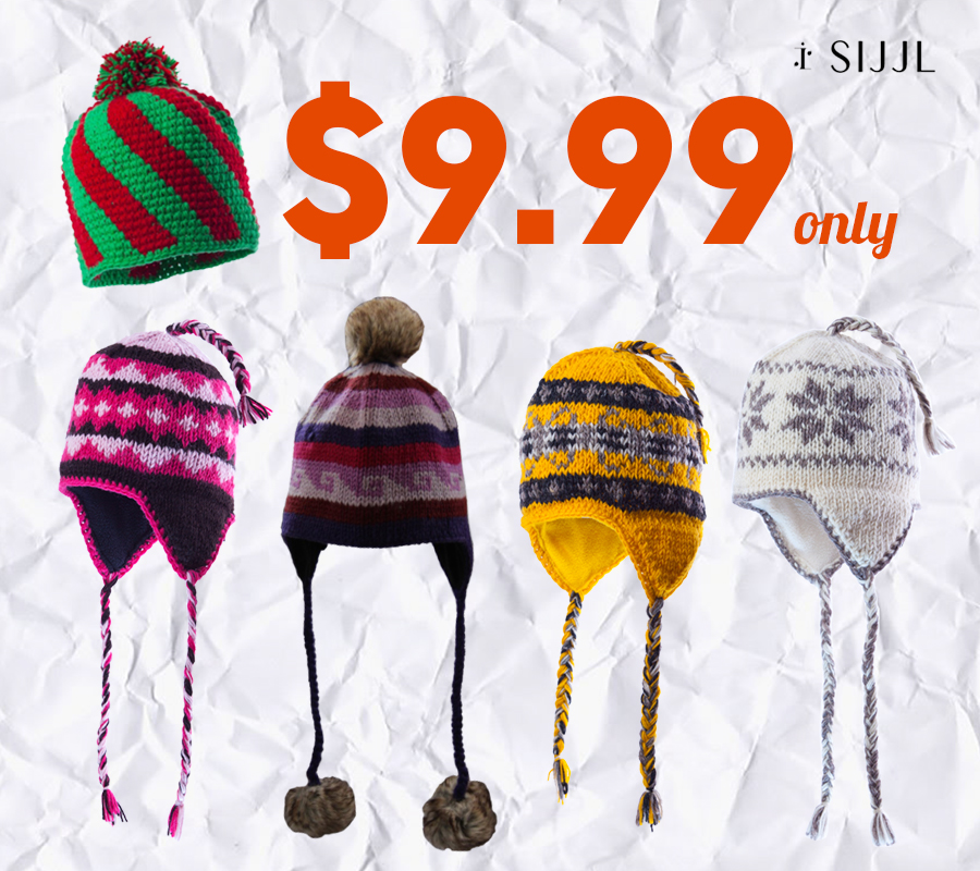 Only $9.99 for our woolen hats