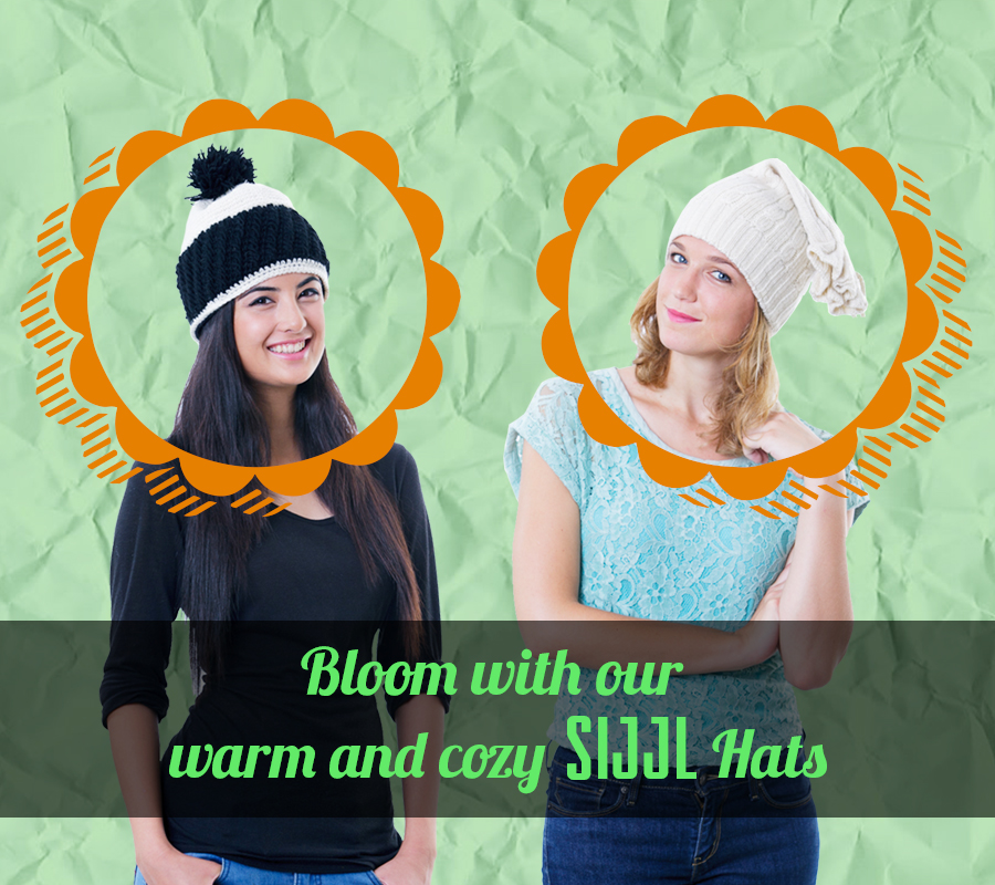 Bloom with SIJJL Hats