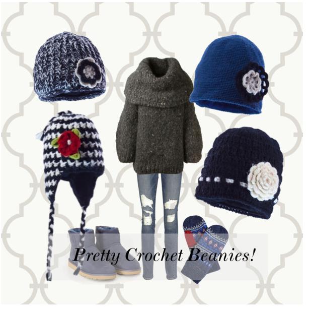 Pretty Crochet Beanie