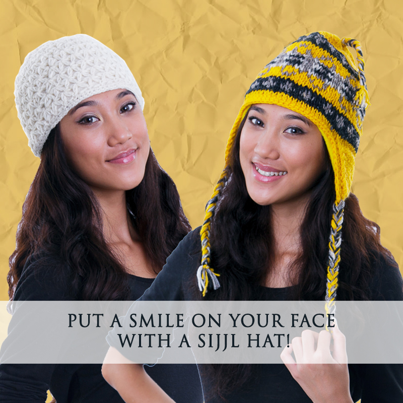 Smile with SIJJL Hat