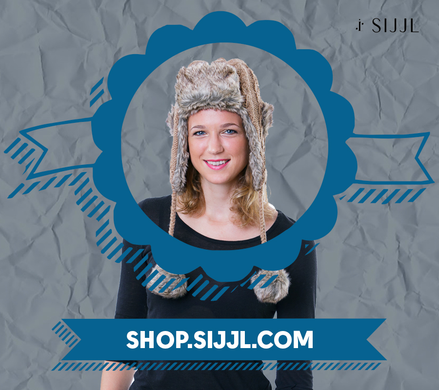 Battle the cold with trapper hats