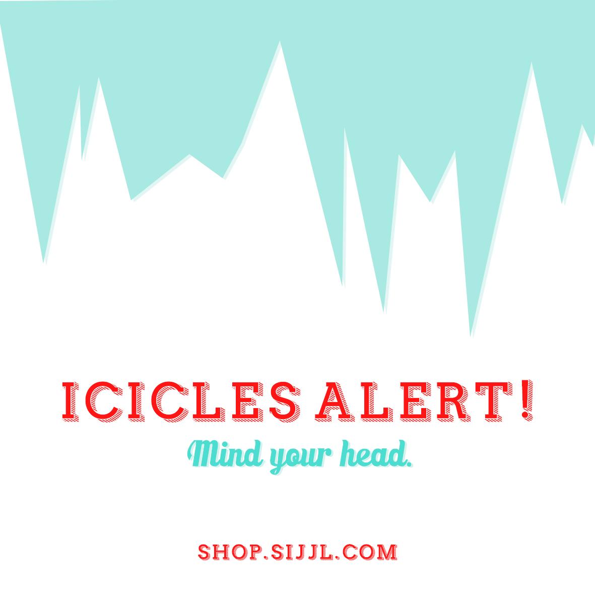 icicles alert