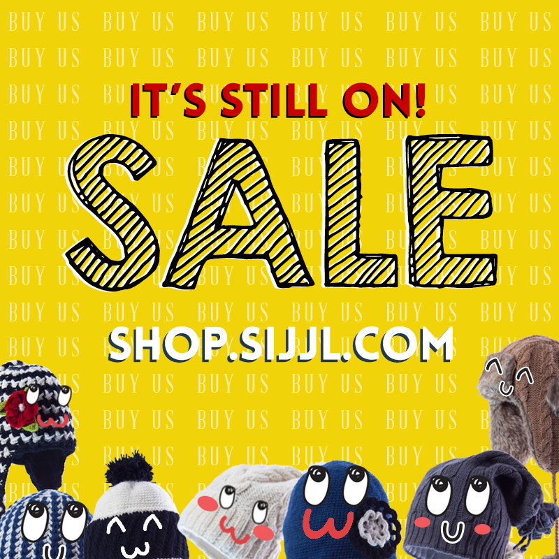 sale going strong woolen hats