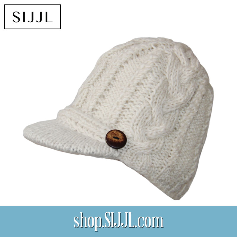 Warm Ivory Bill Hat