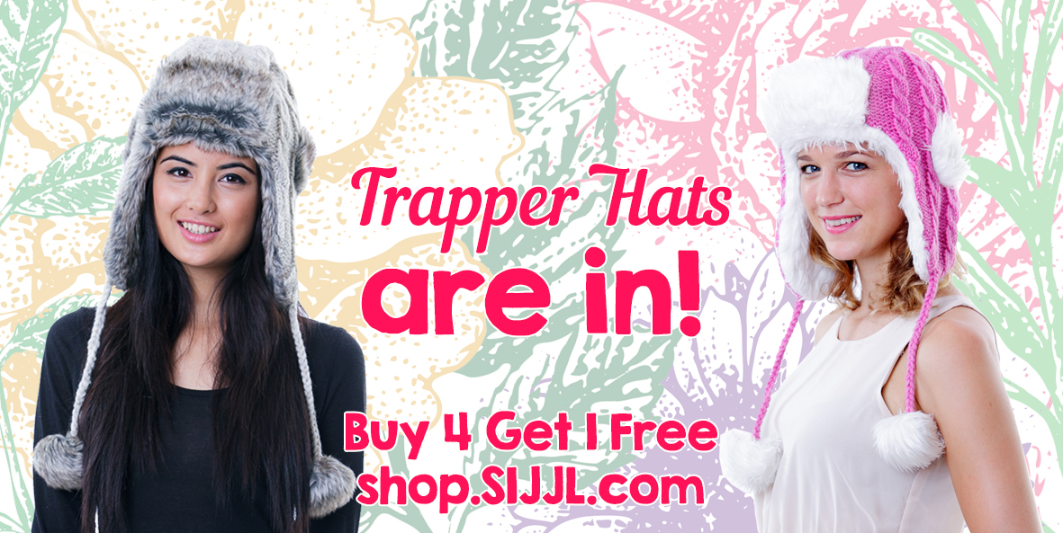 Trapper Hats Hot this Season!
